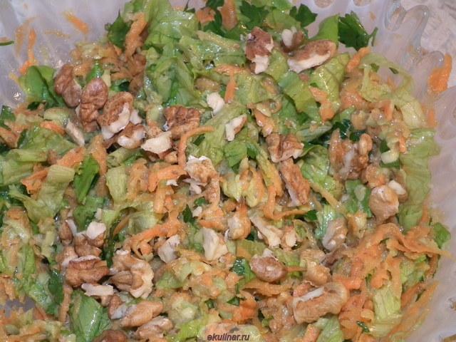 Салат сплошные витамины